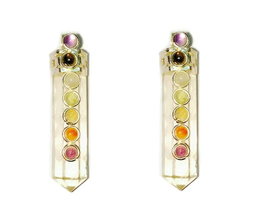 Crystals supply chakra crystal healing point pencil pendants chakra crystal healing point pencil pendants aloadofball Gallery