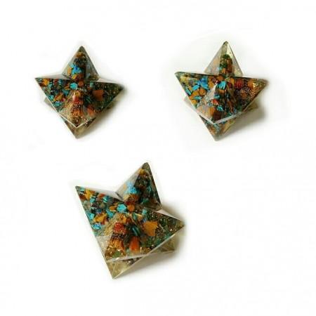 Chakra Orgone  Merkaba Star For Positive Energy