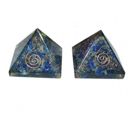 Orgone Lapis Lazuli Baby Energy Pyramids