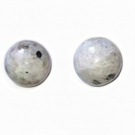 Rainbow Moon Stone Ball spheres Of Gemstone