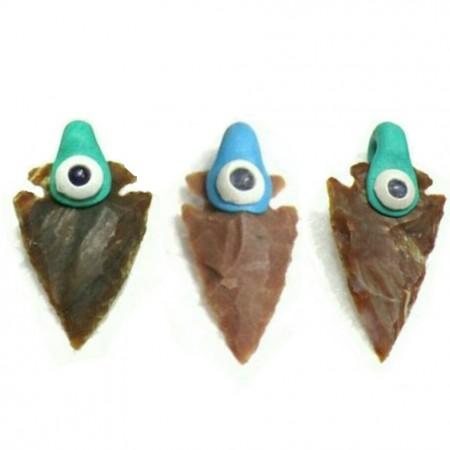 Tibetan arrowheads pendants