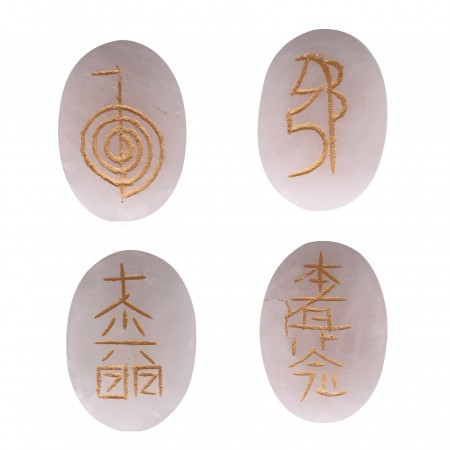 Rose Quartz Usui Reiki Symbols Set