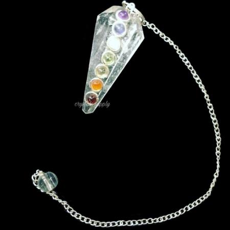 Clear Quartz Pendulums - Chakra Pendulums Manufacturer