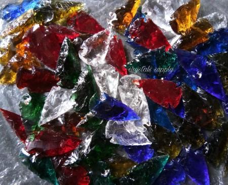 Glass Arrowheads - Wholesale 1.5 Inch Glass Arrowheads