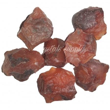 Red Carnelian Raw - Gemstone Raw