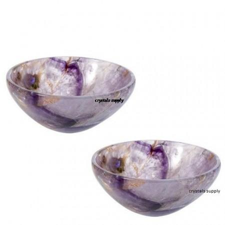 Amethyst Bowls - Crystal Bowl