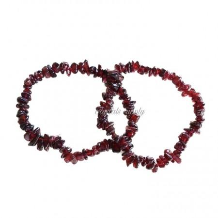 Garnet Bracelets - Garnet Chips Bracelets - Wholesale Chips Bracelets