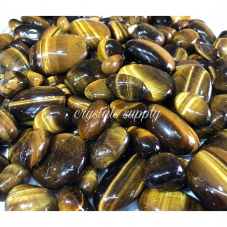 Tiger Eye Tumbled Stone - Wholesale Best Quality Tiger Eye Tumbled Stone - Crystals Supply