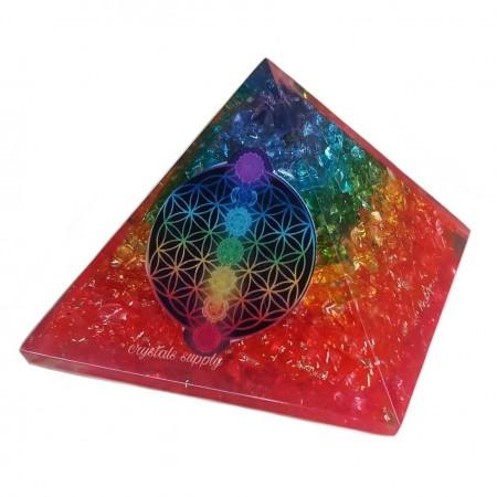 Wholesale Chakra Orgone Pyramids - Orgone Pyramids Suppliers - Wholesale Orgonite Pyramids - Crystals Supply